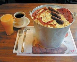 Легкий завтрак ведет к ожирению