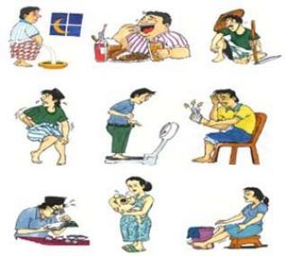 Клинические признаки или симптомы диабета