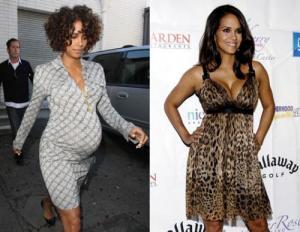 Знаменитости быстро теряют вес, набранный во время беременности, тем самым давая повод к беспокойству обыкновенным женщинам