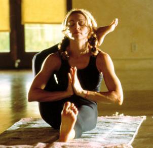 Мадонна: «Йога – на завтрак, пилатес – на обед»