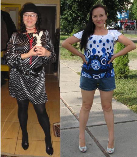 Для снижения веса Ольга выбрала сыроедение.