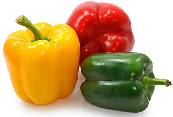 Перец красный зеленый сладкий похудение