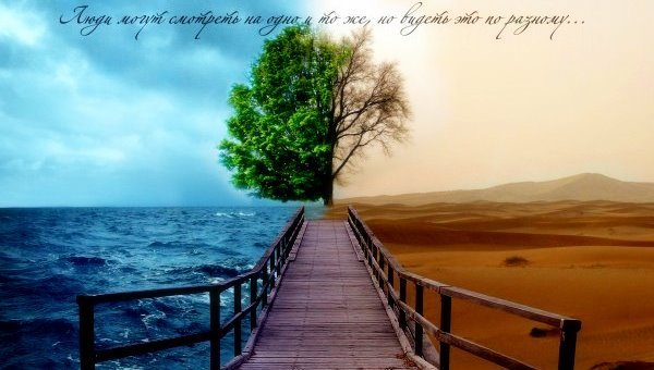 Позитивное и негативное мышлени