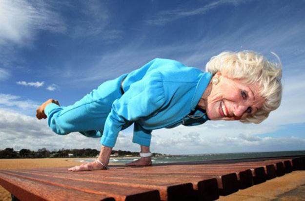 Силовая тренировка помогает предотвратить процесс старения